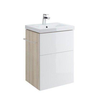 Szafka podumywalkowa smart como / colour 50 biała  S568-016 Cersanit